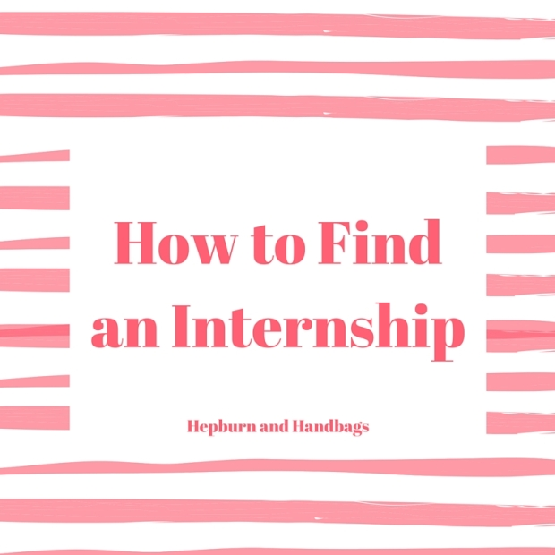 How to Find an Internship