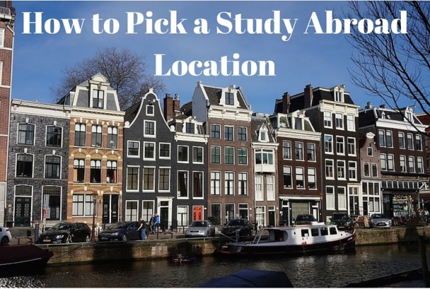 How to Pick a Study Abroad Location