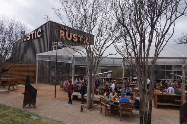Sunday Brunch at The Rustic, Dallas